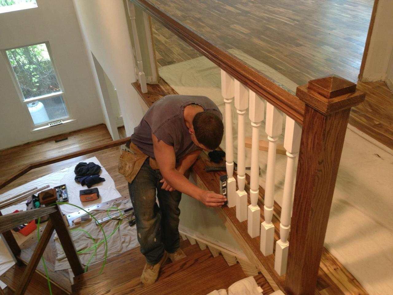 We Help You Choose The Perfect Wood For Your Staircase And Railing.